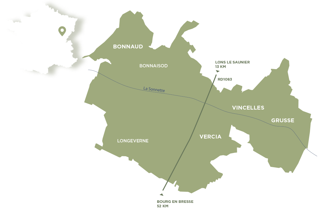 Carte du Val Sonnette